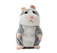 abordables -hamster effronté parler animal de compagnie peluche mignon son cadeau de noël enfant sans batterie