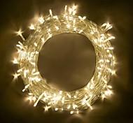 economico -10 m luci stringa 100 led smd 0603 bianco caldo rgb bianco party decorativo collegabile 220-240 v 110-120 v 1 pz ip44