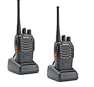 cheap -2PCS Walkie Talkie Baofeng BF-888S 16CH UHF 400-470MHz Baofeng 888S Ham Radio HF Transceiver Amador Portable Intercoms Super Sound Quality
