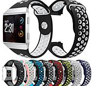 economico -Cinturino intelligente per Fitbit 1 pcs Cinturino sportivo Silicone Sostituzione Custodia con cinturino a strappo per Fitbit ionico