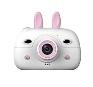 economico -schermo hd caricabile mini fotocamera digitale per bambini cartone animato carino macchina fotografica giocattoli oggetti di scena fotografia all'aperto per regalo di compleanno per bambini