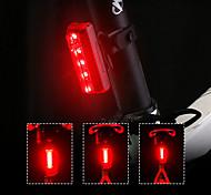 abordables -LED Eclairage de Velo LED Feu arrière VTT Vélo tout terrain Vélo Cyclisme Lithium-ion polymère Largage rapide Dégradé de Couleur Batterie rechargeable 70 lm Cyclisme Rouge / Rotation à 360 °