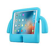 economico -telefono Custodia Per Apple Per retro iPad Air iPad 4/3/2 iPad Air 2 Resistente agli urti Con supporto Tinta unita Gel di silice PC