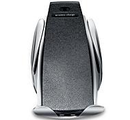 economico -supporto del telefono del caricatore mobile senza fili dell'automobile automatica s5 qi veloce a infrarossi montaggio rapido di bloccaggio dell'automobile presa d'aria ricarica rapida per iphone x xs