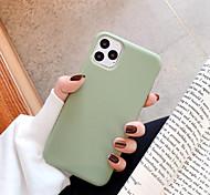 economico -telefono Custodia Per Apple Per retro iPhone 11 iPhone 11 Pro iPhone 11 Pro Max iPhone SE 2020 Resistente agli urti Tinta unica TPU