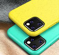 economico -telefono Custodia Per Apple Per retro Silicone Custodia in silicone iPhone 12 Pro Max 11 Pro Max Resistente agli urti Tinta unita TPU Silicone