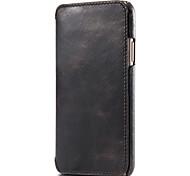 economico -telefono Custodia Per Apple Integrale Custodia in pelle iPhone 12 Pro Max 11 SE 2020 X XR XS Max 8 7 6 iPhone 11 Pro Max SE 2020 X XR XS Max 8 7 6 Porta-carte di credito Tinta unica vera pelle