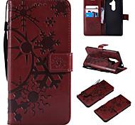 economico -telefono Custodia Per Nokia Integrale Custodia in pelle Porta carte di credito Nokia 9 Nokia 8 Nokia 7 Nokia 7 Plus A portafoglio Porta-carte di credito Con chiusura magnetica Paesaggi pelle