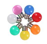 economico -colorato e27 2w risparmio energetico 6 lampadine a led globo lampada fai da te 6 colori brillanti