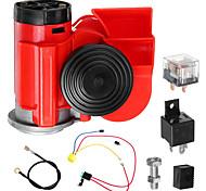 abordables -Horn Snail Compact Airhorn Camion / Moto / Bateau Haut-parleurs Autoradio, HiFi motocyclettes / Universel