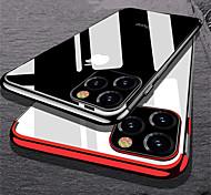 economico -telefono Custodia Per Apple Per retro iPhone 12 Pro Max 11 SE 2020 X XR XS Max 8 7 6 iPhone 11 Pro Max SE 2020 X XR XS Max 8 7 6 Placcato Transparente Transparente TPU