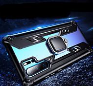 economico -telefono Custodia Per Huawei Per retro Silicone Custodia in silicone Huawei P30 Pro Huawei P30 Lite Huawei Mate 20 pro Resistente agli urti Con supporto Supporto ad anello Transparente Armatura TPU