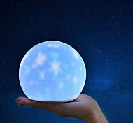 abordables -brelong usb charge créatif projection étoilée lumière ambiante lumière led charge nuit de silicone 1 pc