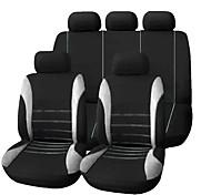economico -9 pz / set coprisedili per auto comodo antipolvere protettore di stoffa arte proteggere cuscino seggiolini auto auto-styling automobili interni auto universale coprisella completo