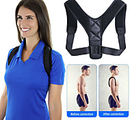 abordables -dos unisexe dos ajustable colonne vertébrale appareil de fitness correcteur posture bandoulière synthétique fixe