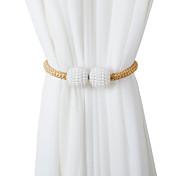 economico -magnete tendaggi per tende cinture sospese corde fermi per tende fibbie fermagli accessori per tende accessori per ganci