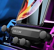 abordables -Accroche Support Téléphone Automatique Grille de sortie d'air Type de gravité Ajustable ABS Accessoire de Téléphone