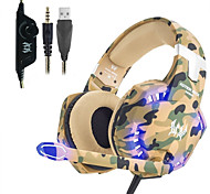 abordables -kotion chaque casque g2600 casque de jeu casque stéréo annulation de bruit filaire écouteur avec micro led lumières pour ordinateur de bureau pc portable ps4