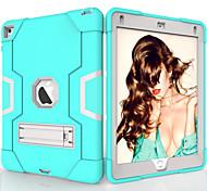 economico -telefono Custodia Per Apple Per retro iPad Air iPad 4/3/2 iPad (2018) iPad Air 2 iPad (2017) iPad Pro 9.7 '' Resistente agli urti Con supporto Tinta unita TPU PC