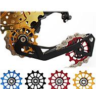 abordables -Roue de guide de vélo Pour Vélo de Route / Vélo tout terrain / VTT Alliage d'aluminium Antidérapant / Haute résistance / Durable Cyclisme Noir Dorée Rouge