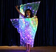 abordables -Accessoires de Danse Ailes d'Isis Fille Utilisation Térylène LED