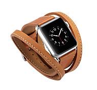 economico -Cinturino intelligente per Apple  iWatch 1 pcs Cinturino sportivo Banda di affari Vera pelle Sostituzione Custodia con cinturino a strappo per Apple Watch Serie SE / 6/5/4/3/2/1 38 millimetri 40 mm