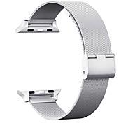 economico -Cinturino intelligente per Apple  iWatch 1 pcs Chiusura classica Acciaio inossidabile Sostituzione Custodia con cinturino a strappo per Apple Watch Serie SE / 6/5/4/3/2/1 38 millimetri 40 mm 42
