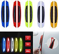 economico -Bianco / Giallo / Rosso Normale / Individualità Adesivi per porte / Adesivi per auto Adesivi 3D / Adesivi riflettenti