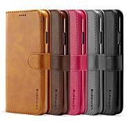 economico -telefono Custodia Per Apple Integrale Custodia in pelle Porta carte di credito iPhone 12 Pro Max 11 SE 2020 X XR XS Max 8 7 6 A portafoglio Porta-carte di credito Con chiusura magnetica Tinta unica