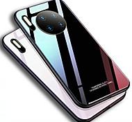 economico -telefono Custodia Per Huawei Per retro Mate 10 Mate 10 pro Mate 10 lite Huawei Mate 20 lite Huawei Mate 20 pro Huawei Mate 20 Compagno 30 Mate 30 Pro Mate 30 Lite A specchio Tinta unita TPU Vetro
