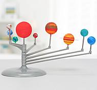 abordables -Modèles d'Exposition Jouets spatiaux Kit de construction de modèles Système solaire Éclairage Phosphorescent Simulation Plastique Enfant Adulte Garçon Fille Jouet Cadeau