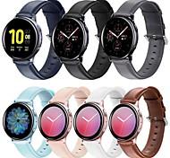 economico -Cinturino intelligente per Samsung Galaxy 1 pcs Banda di affari Vera pelle Sostituzione Custodia con cinturino a strappo per Samsung Galaxy Watch Active 2
