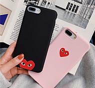 abordables -étui de couleur unie tpu pour apple iphone 11 pro max 8 plus 7 plus 6 plus max motif couverture arrière