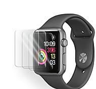 abordables -Protecteur d'écran en verre trempé 3pack apple watch pour série 5 43 2 1 protecteur d'écran