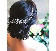 abordables -Imitation de perle Peignes avec Imitation Perle 1 Pièce Mariage Casque