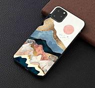 economico -telefono Custodia Per Apple Per retro iPhone 12 Pro Max 11 SE 2020 X XR XS Max 8 7 6 iPhone 11 Pro Max SE 2020 X XR XS Max 8 7 6 Effetto ghiaccio Fantasia / disegno Paesaggi TPU