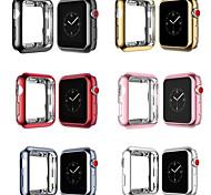 abordables -étuis pour Apple Watch série 5 / Apple Watch série 4 Compatibilité tpu Apple