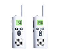 economico -2 piezas xiaomi walkie talkie mini radio mini intephone genitore-figlio esterno self-driving hotel ktv