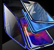 abordables -coque magnétique pour iphone 11 / iphone 11 pro / iphone 11 pro max coque 360 double coque en verre trempé métal pour couvrir les étuis aimant pour iphone xs max / xr / xs / x / 8plus / 7plus / 6s