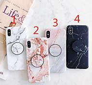 economico -telefono Custodia Per Apple Per retro iPhone 12 Pro Max 11 SE 2020 X XR XS Max 8 7 6 Con supporto IMD Effetto ghiaccio Effetto marmo TPU