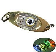 economico -1 pezzo Torcia da pesca Bianco Rosso Blu Verde Plastica Impermeabile Luminoso Luce LED Immersione / Nautica Pesca 200-500 m