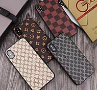 abordables -étui avec protecteur d'écran pour apple iphone 11/11 pro / 11 pro max couverture arrière ultra-fine motif géométrique en cuir pu / pc pour iphone 7 / 7p / 8 / 8p / 6/6 plus / x / xs / xr / xs max