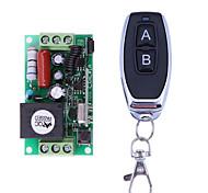 abordables -commutateur à relais intelligent ac220v 1ch / relais 10a / mode de fonctionnement verrouillé a interrupteur de télécommande / rf à distance / 433mhz