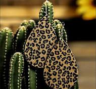 abordables -Femme Boucle d'Oreille Pendantes Boucles d'Oreille Boucles d'oreilles suspendues Larme Classique Découpé Fourrure simple Imprimé léopard Mode Tendance africain Des boucles d'oreilles Bijoux Grille