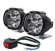 economico -auto elettrica ha condotto la lampada moto esterna ha portato a sparare la luce fari ausiliari per auto fendinebbia 2 pezzi