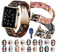 economico -Cinturino intelligente per Apple  iWatch 1 pcs Cinturino sportivo fibbia a farfalla Resina Sostituzione Custodia con cinturino a strappo per Apple Watch Serie SE / 6/5/4/3/2/1 38 millimetri 40 mm 42