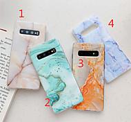 economico -telefono Custodia Per Samsung Galaxy Per retro S9 S9 Plus S8 Plus S8 S10 S10 + S10 Lite Galaxy S10 E Galaxy S10 5G IMD Fantasia / disegno Effetto marmo TPU