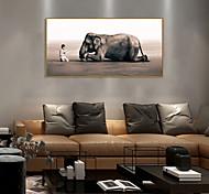 economico -Stampe con cornice Set con cornice - Ritratti Animali Polistirolo Foto Decorazioni da parete