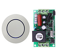 economico -ac220v interruttore relè 1ch / relè 10a senza ricevitore nc com / learning code per luce / accensione led off / 433mhz