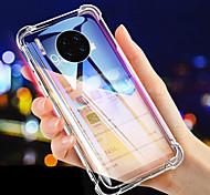 economico -telefono Custodia Per Huawei Per retro Silicone Custodia in silicone Mate 10 pro Huawei Mate 20 pro Mate 30 Pro Resistente agli urti Transparente Transparente TPU Silicone